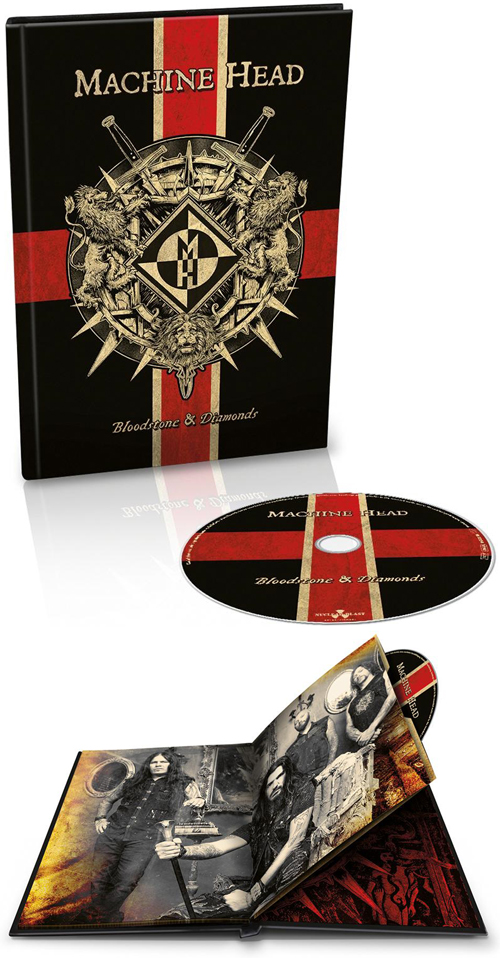 Bloodstone & Diamonds Digipack