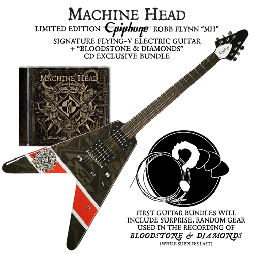 Bloodstone & Diamonds Guitar Bundle