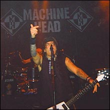 Click image to view show info: Robb Flynn in Santa Ana, CA 2001