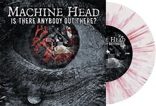 Is There Anybody Out There Red-Blue-Splatter Vinyl