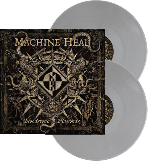 Bloodstone & Diamonds Grey Vinyl 2LP