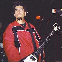 Click image to view show info: Robb Flynn in San Diego, CA 2000