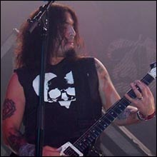 Click image to view show info: Robb Flynn in Amsterdam 2007