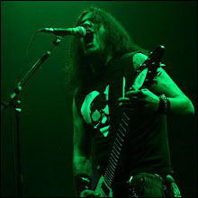 Click image to view show info: Robb Flynn in Helsinki, Dec 2007