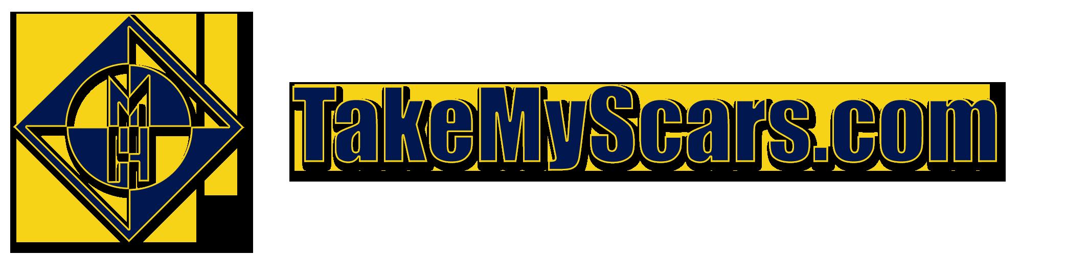 TakeMyScars.com Logo